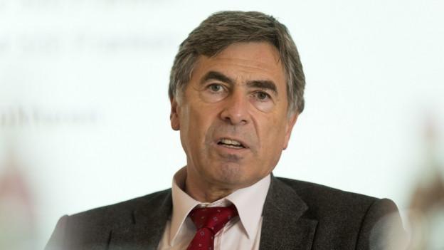 Der Basler Erziehungsdirektor Christoph Eymann.