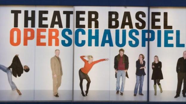 Ein Plakat des Theater Basel