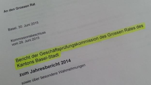 GPK-Bericht 2014