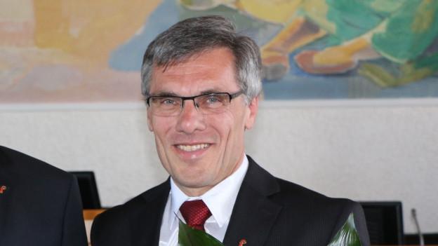 Der Grellinger Franz Meyer präsidiert ab heute den Landrat.