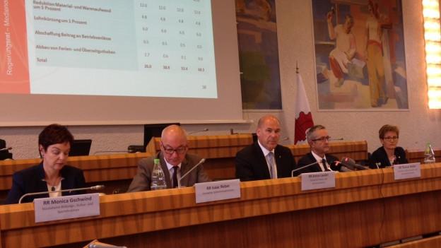 188 Millionen will Baselbieter Regierung einsparen