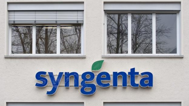 Syngenta-Hauptsitz in Basel.