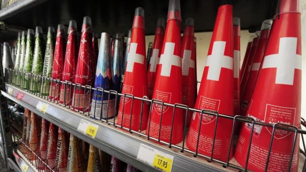 Bislang lief der Verkauf von Feuerwerk wegen der Feuergefahr sehr schlecht.