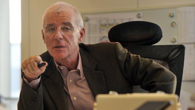 Christian Heeb, Gründer von Radio Basilisk.