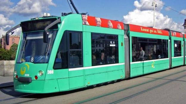 Die Grenzacherstrasse soll in Zukunft mit einer Tramlinie erschlossen werden