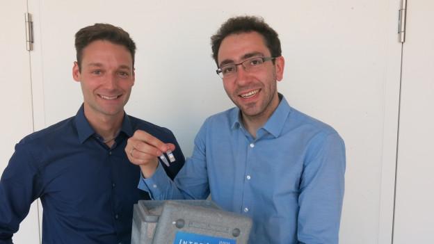 Martin Ostermaier (rechts) ist einer der Teilnehmer am «Challenge»