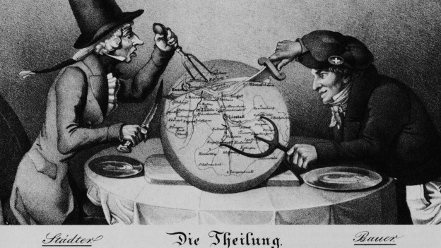 Das Birseck war an der Kantonsteilung beteiligt.