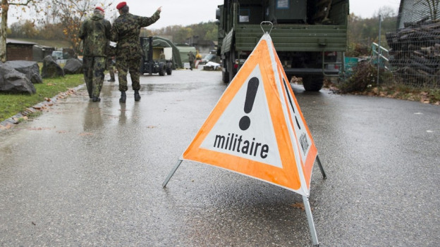 Eine Armeeübung in Basel sorgt für Kritik