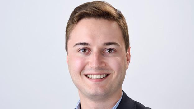 Julian Eicke, bürgerlicher Basler Ständeratskandidat