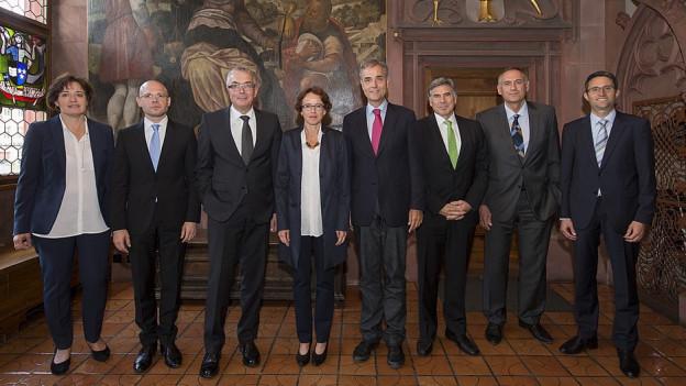 Die Basler Regierung