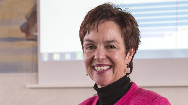Die Baselbieter Bildungsdirektorin Monica Gschwind