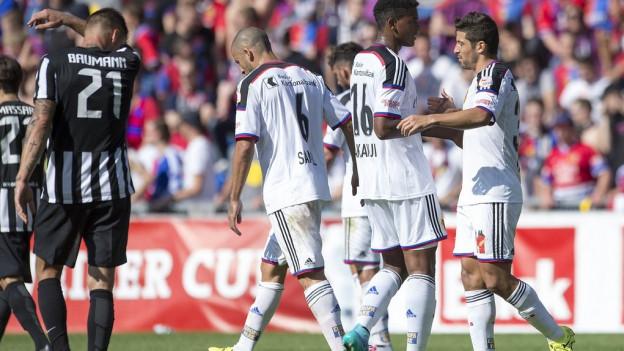 FC Basel schlägt YF Juventus im Schweizer Cup.