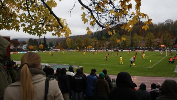 Im Novermber 2012 spielten die Young Boys auch schon in Muttenz.