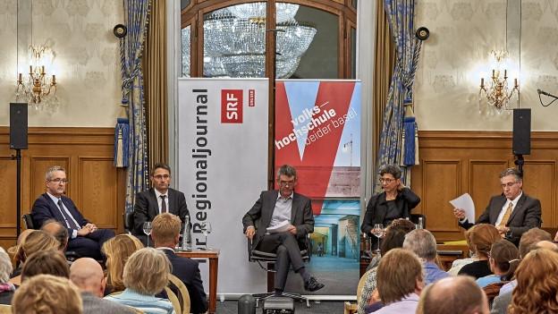 Stadtgespräch über Gesundheitspolitik in der Region Basel
