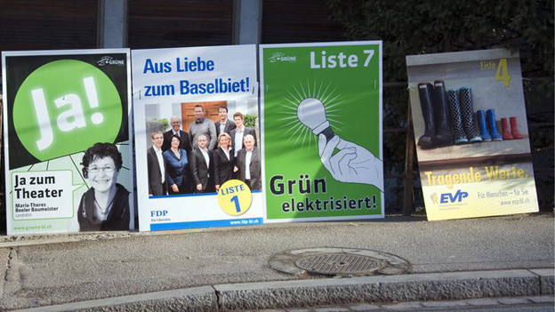 Wahlplakate im Baselbiet - schon länger ein Thema