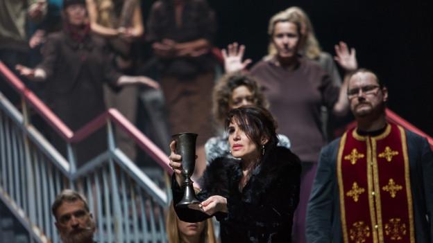 Die Oper «Chowanschtschina» von Modest Mussorgski im Theater Basel.