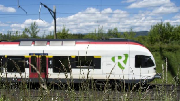 Ein S-Bahn-Zug bliebt zwischen Basel und Olten stecken