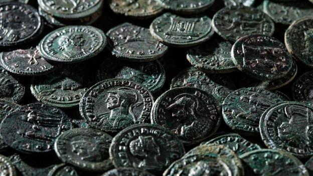 Die römischen Münzen wurden in einer Kirschbaumplantage gefunden.