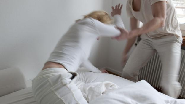 Häusliche Gewalt ist auch in Basel nach wie vor ein grosses Problem.