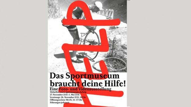 Sportmuseum macht Plakatkampagne