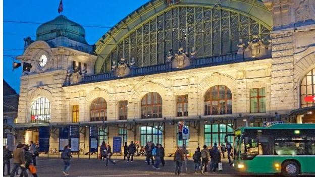 Fassade des Centralbahnhofs