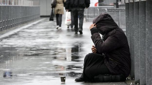 Während der Festtage fühlen sich viele randständige Menschen besonders einsam.