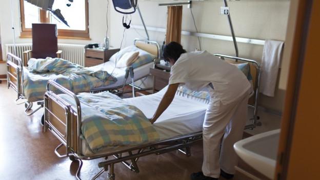 Spitalkosten belasten leere Staatskasse