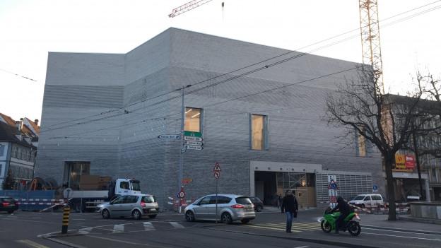 Der Erweiterungsbau des Kunstmuseums Basel.