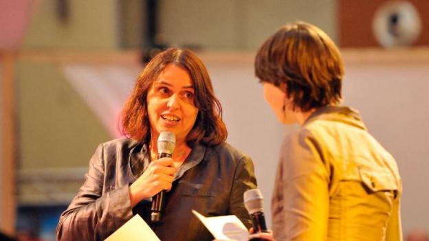 Hat Interesse: Grossratspräsidentin Elisabeth Ackermann