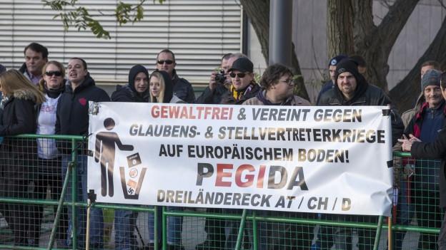 Pegida darf nicht demonstrieren in Basel