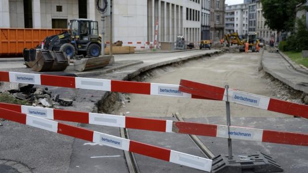 Auch dieses Jahr wird es in Basel zahlreiche Baustellen gebe