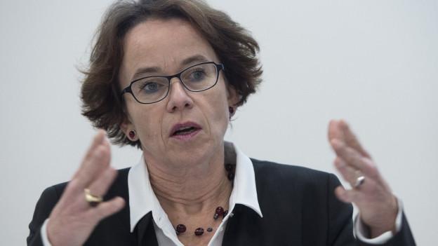 Eva Herzog tritt für eine vierte Amtszeit im Regierungsrat an.