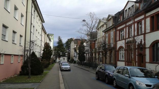 Die Pilgerstrasse in Basel