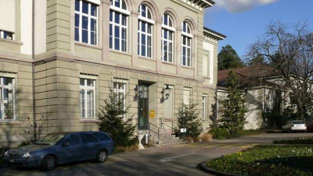 Direktionsgebäude der Psychiatrischen Uniklinik
