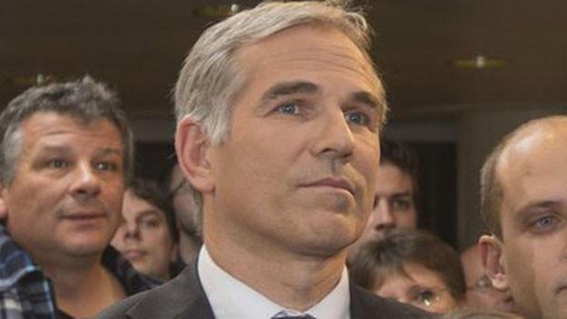 Lorenz Nägelin ist SVP-Regierungskandidat in Basel