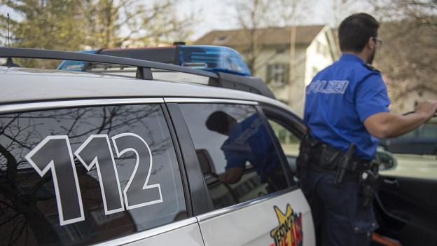 Die Polizei zeigte mehr Präsenz auf den Strassen