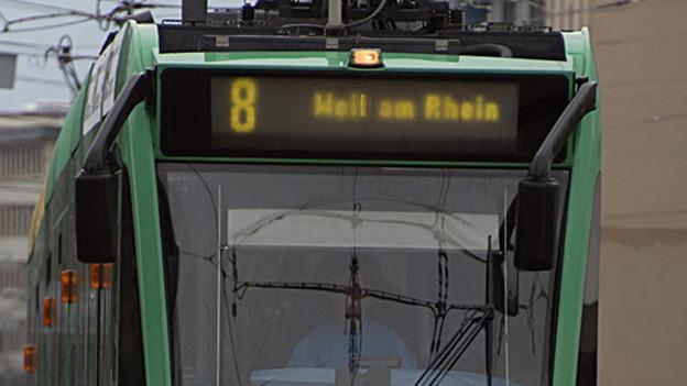 Das 8er Tram ist zurzeit teilweise langsamer unterwegs