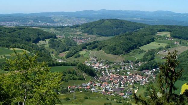 Luftaufnahme von Buus und Umgebung