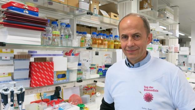 Radek Skoda, Leiter des Departements Biomedizin