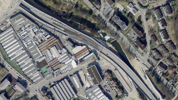 Die Brücke über die Ergolz muss saniert werden