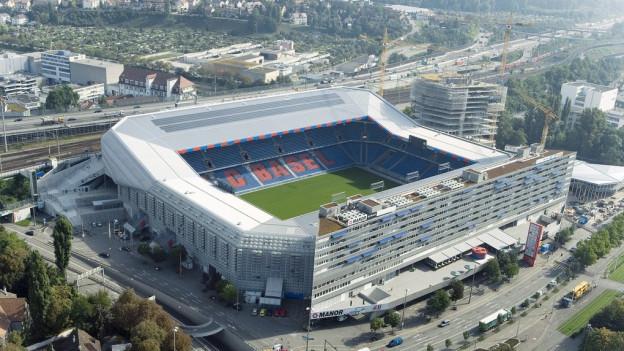 Der Europa League Final findet im Basler St. Jakob-Park statt