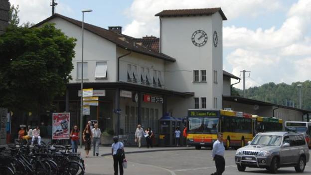 Bahnhofsplatz Liestal