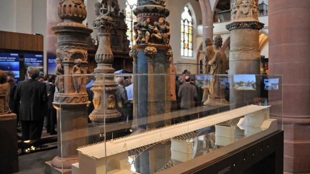 Inneres der Barfüsserkirche