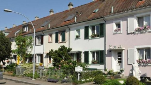 Der Eigenmietwert von Häusern in Basel soll höher werden