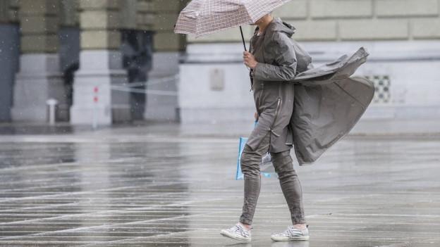 Regen, Regen, Regen.