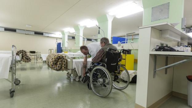 Basler Patienten lassen sich nicht gerne im Ausland pflegen.