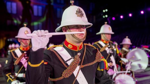 Zum 11. Mal ist im Kleinbasel Militärmusik Trumpf