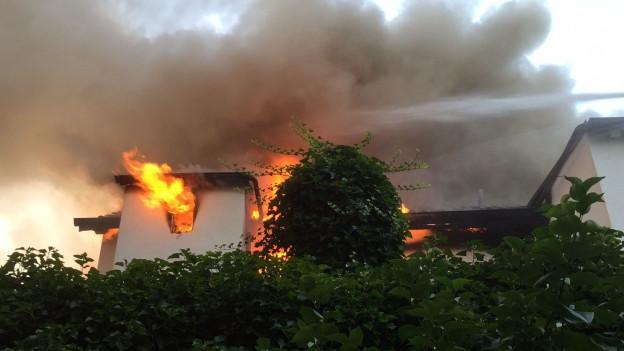 Brand in Binningen