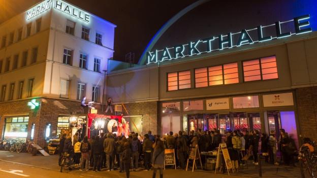 Die Basler Markthalle floriert seit einiger Zeit wieder.