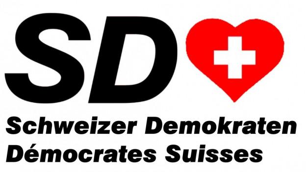 Parteilogo der Schweizer Demokraten.